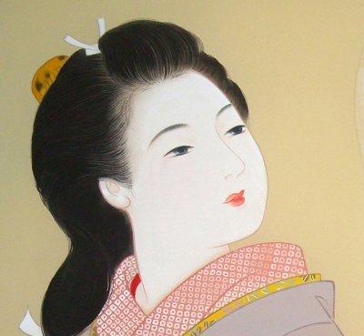 画像2: 美人画[恋文-こいぶみ-」大全紙版額入り